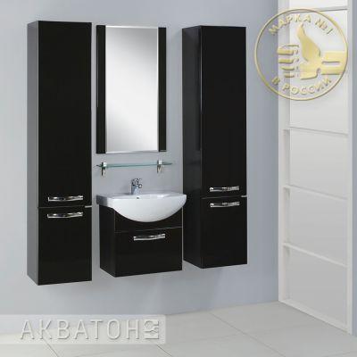 Мебель для ванной комнаты Акватон Ария 50 белая (комплект)