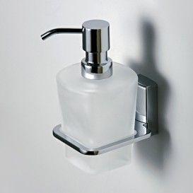 Дозатор для жидкого мыла стеклянный, 300 ml wasserkraft Серия Leine К-5000