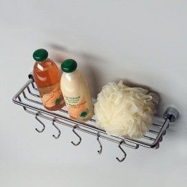 Полка-корзина с крючками WasserKRAFT