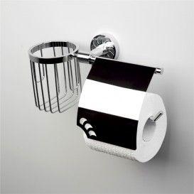 Держатель туалетной бумаги и освежителя WasserKRAFT Серия Isen К-4000
