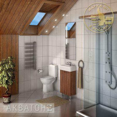 Мебель для ванной комнаты Акватон Эклипс 46 Н