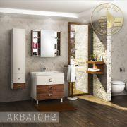 Мебель для ванной комнаты Акватон Стамбул 85 М
