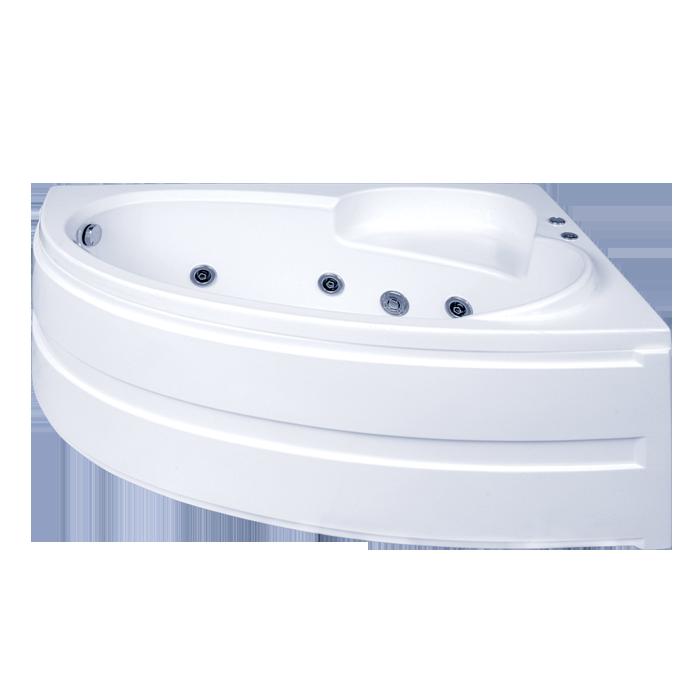 Акриловая ванна BAS  Сагра 160x100 с гидромассажем