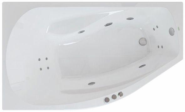 Акриловая ванна Polla Vento 1500×900×580 мм
