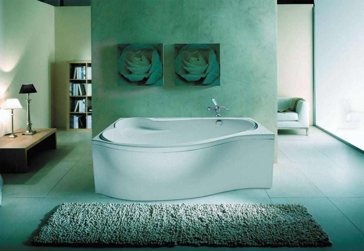 Акриловая ванна EUROLUX Эфес 170x100 левая