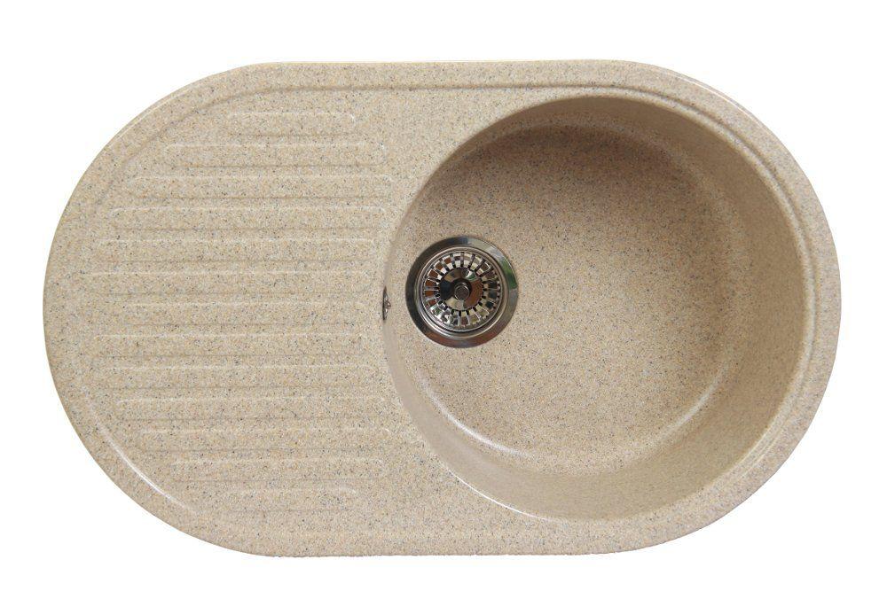 Мойка из искусственного камня Fosto КМ 74-46