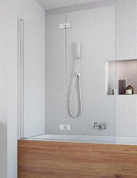 Двутворчатая шторка для ванны Radaway Essenza New PND