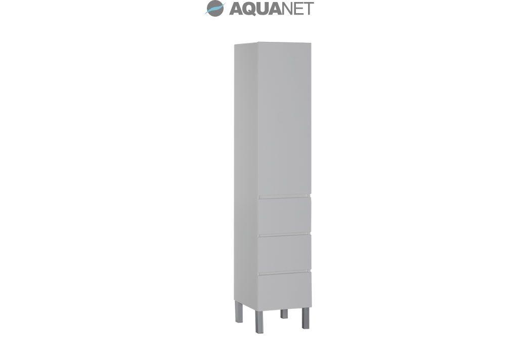Пенал Aquanet Лаконика 40 белый (157544)