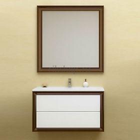 Комплект  мебели OPADIRIS КАПРИ 90 цвет белый глянцевый/ орех антикварный