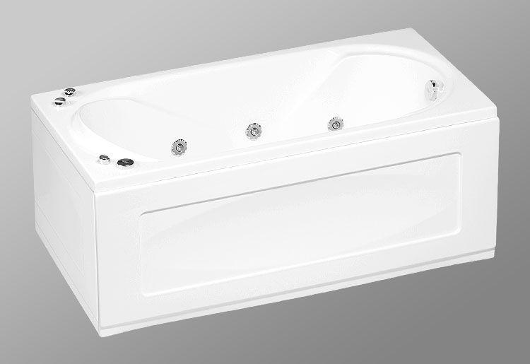 Акриловая ванна AKRILAN Rio ONDO , 150*75 см, без гидромассажа