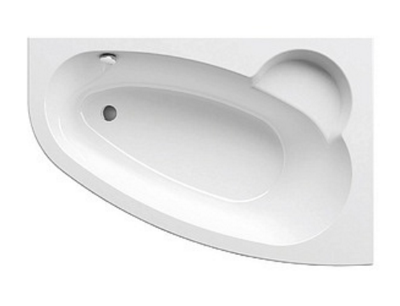 Ванна акриловая Ravak Asymmetric 170 L