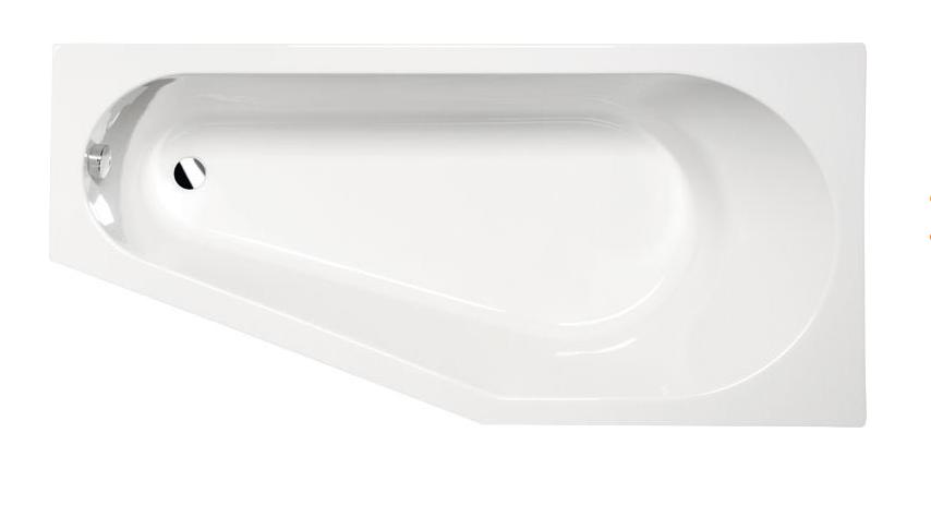 Акриловая ванна Alpen Tigra 170x80 R без гидромассажа