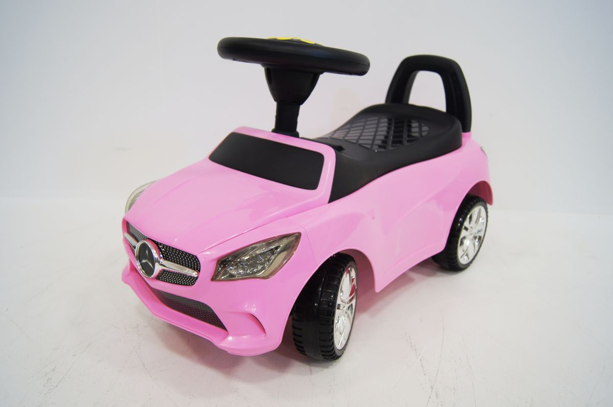 Детская машина-каталка толокар River Toys Mercedes JY-Z01C розовый