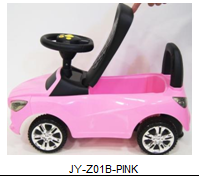 Детская машина-каталка толокар River Toys BMW JY-Z01B розовый