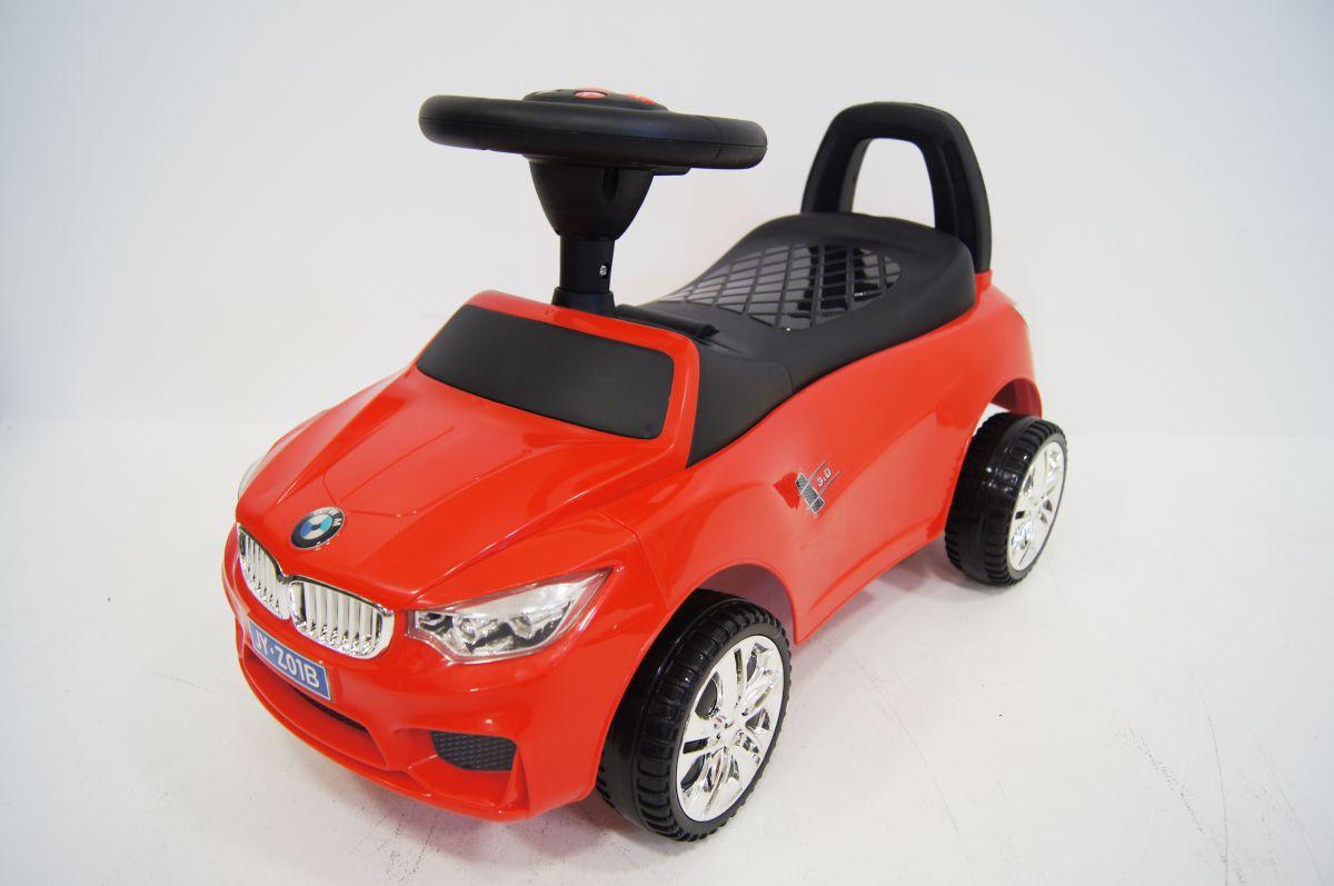 Детская машина-каталка толокар River Toys BMW JY-Z01B красный