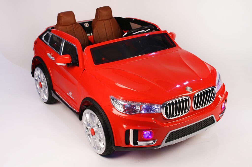 Детский электромобиль River Toys BMW M333MM красный