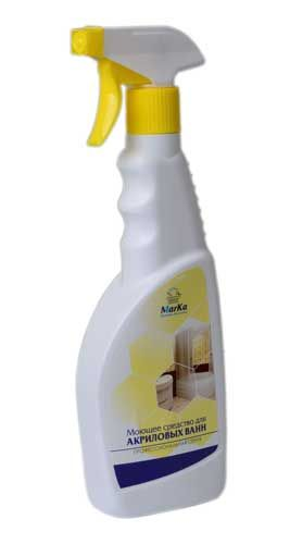 Моющее средство для акриловых ванн
